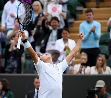 テニス中継 錦織
